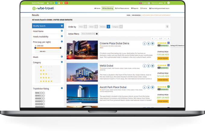 B2B & Corporate Booking System