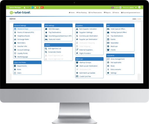 Manage - wbe travel | Travel Booking Software | Online