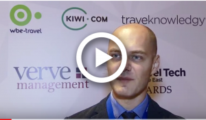 Radu Ciubotaru - wbe.travel at Travel Tech Middle East 2018