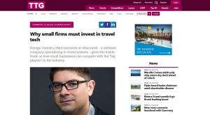 TTG Media Travel Technology - George Dumitru wbe.travel CEO
