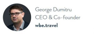 GEORGE DUMITRU - CEO wbe.travel - Conference TTE Travel Technology Europe