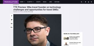 wbe.travel in Travolution Media - Travel Technology Europe