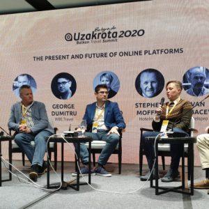 The future of travel is the distribution - George Dumitru at Uzakrota Travel Summit