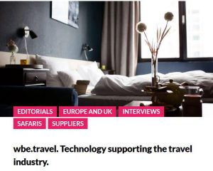 Lost executive wbe.travel technology for the travel industry