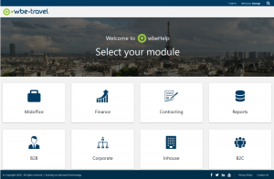 wbe help online user manuals travel technology