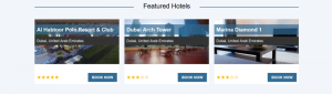 Events Module B2C Booking System - Featured Hotels for events-small