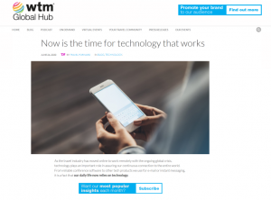 WTM Global Hub - Tech that works - small
