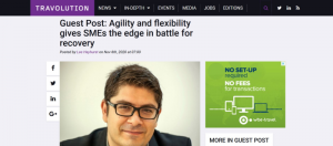 Agility and flexibility gives SMEs the edge in battle for recovery Travolution wbe.travel