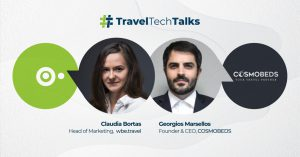 Travel Tech Talks – interview with George Marsellos, Founder & CEO Cosmobeds